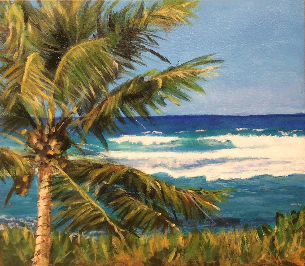 """Sea Breeze"" original fine art by wendy black"