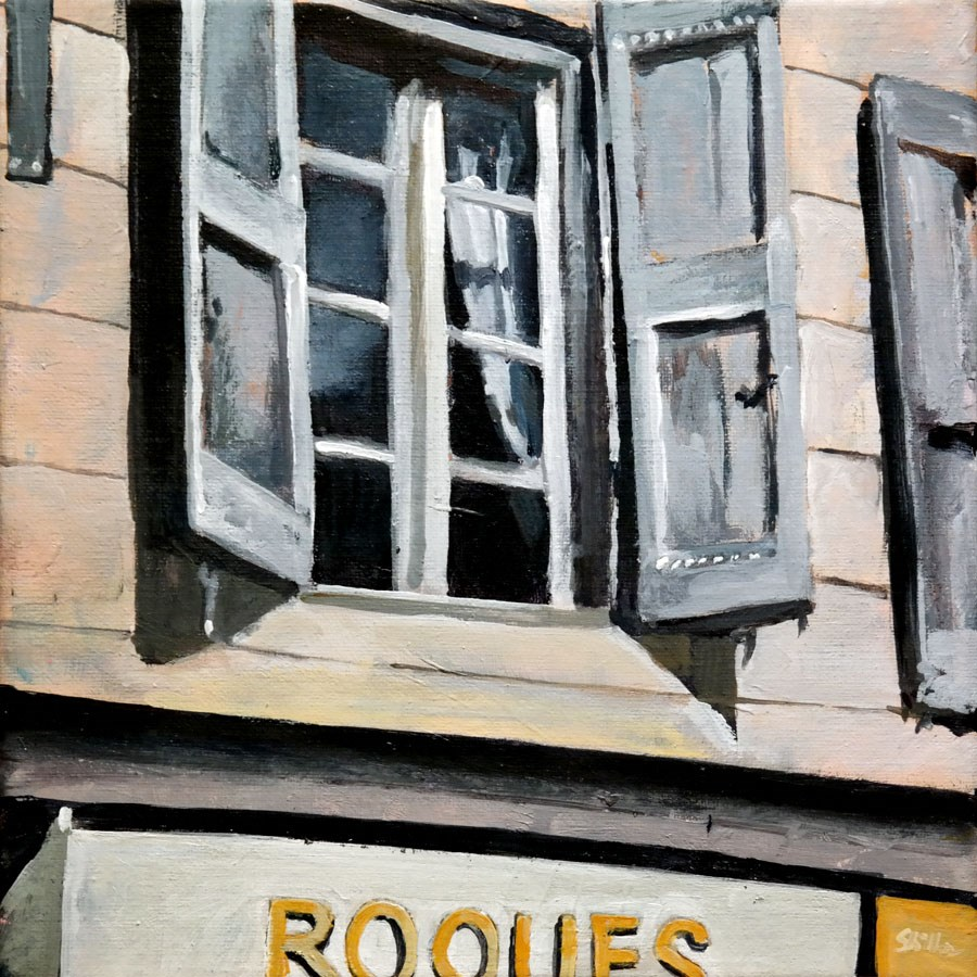 """1638 Roques"" original fine art by Dietmar Stiller"
