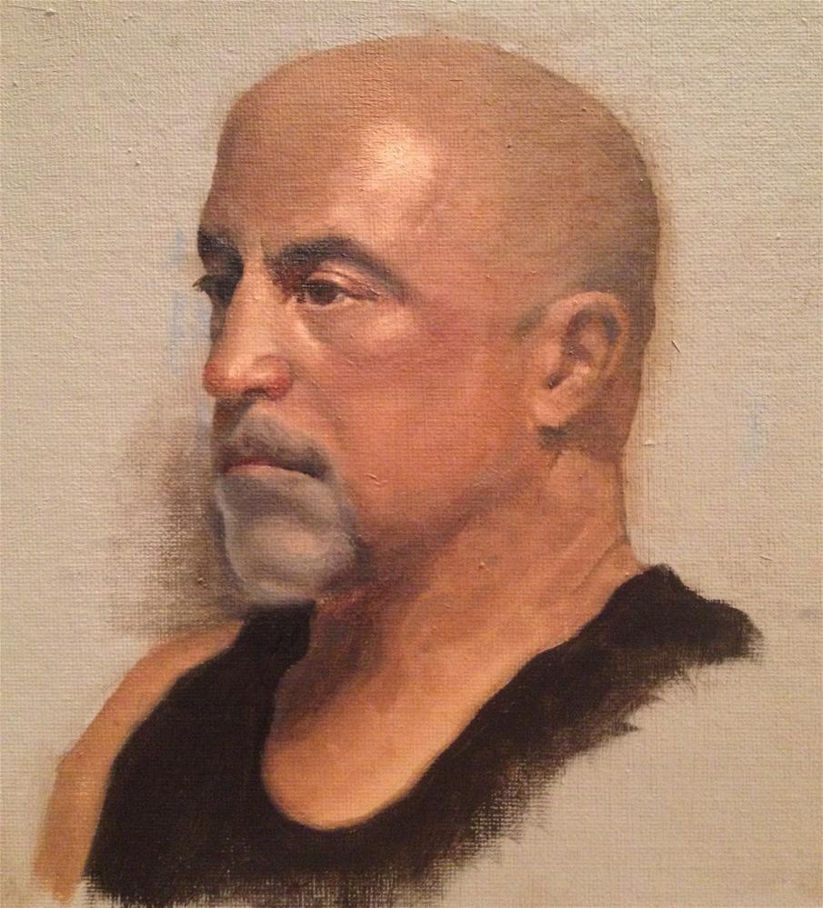 """Bob"" original fine art by Philla Barkhorn"