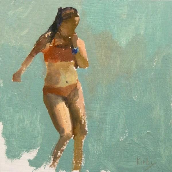 """Summers Water"" original fine art by Randall Cogburn"