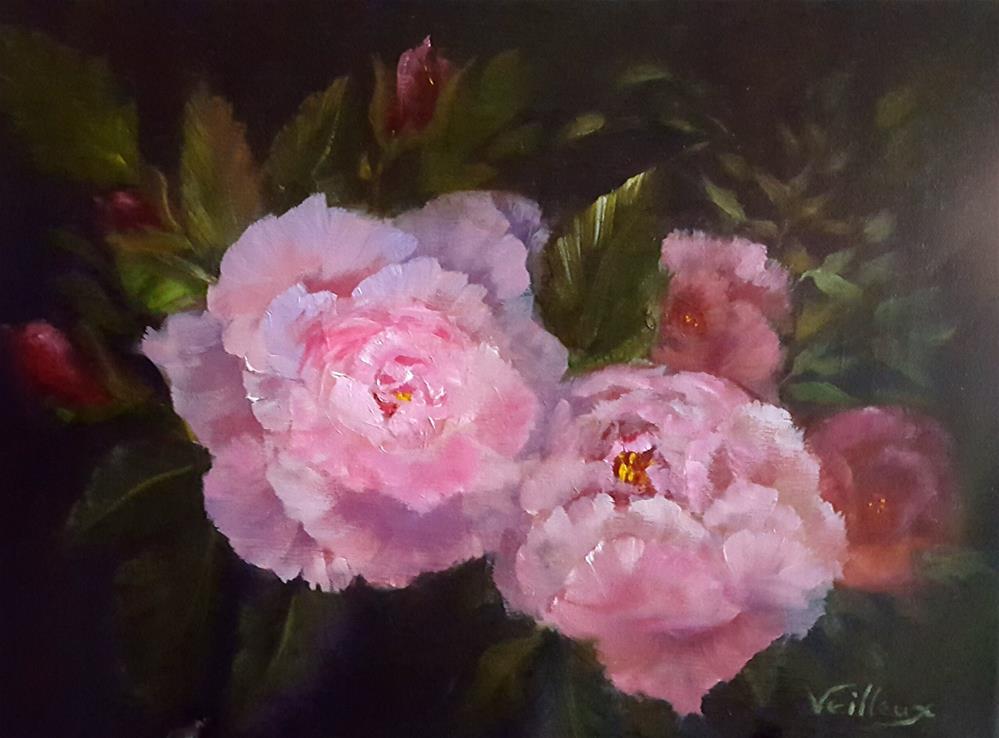 """Night Blooms"" original fine art by Jessica Veilleux"