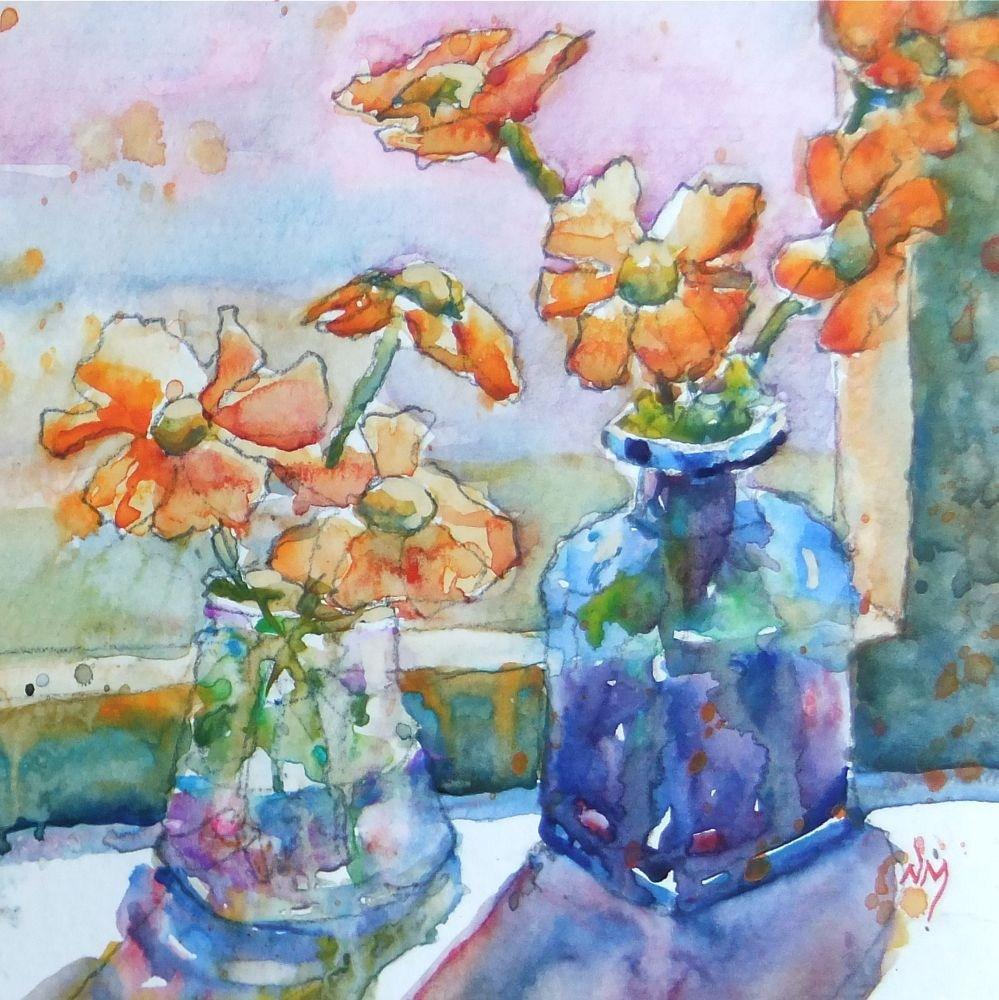 """sunup"" original fine art by Nora MacPhail"