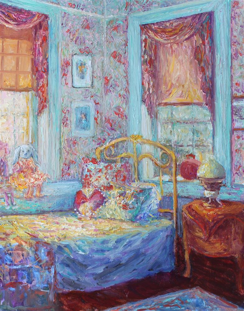 """Hope's Bedroom"" original fine art by barbara yongue"