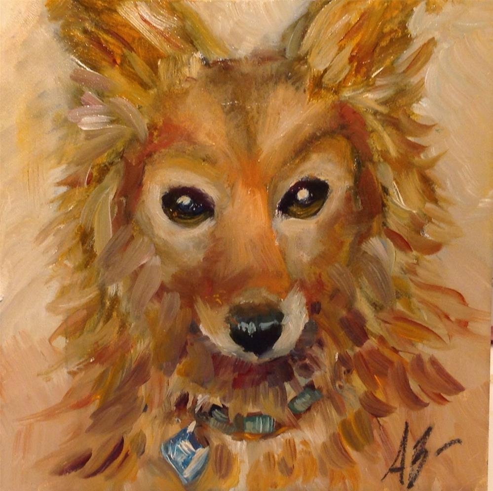 """Portrait of Penny"" original fine art by Annette Balesteri"