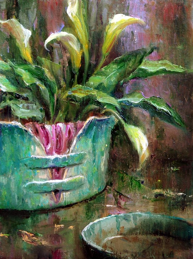Mother's Pottery #10 original fine art by Julie Ford Oliver
