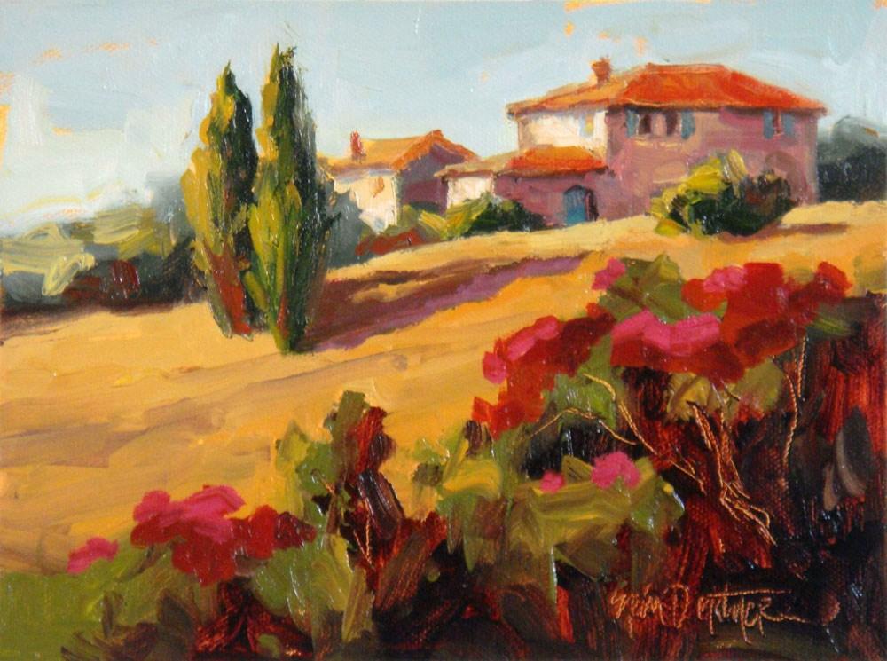 """Tantalizing Tuscany"" original fine art by Erin Dertner"