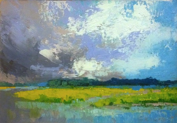 """Coming Storm"" original fine art by Mary Gilkerson"