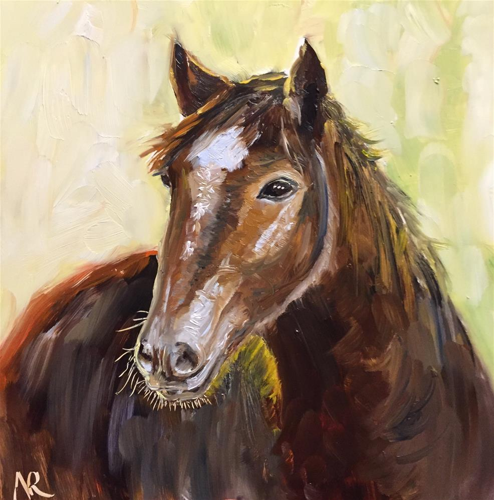"""Backlit"" original fine art by Natasha Ramras"