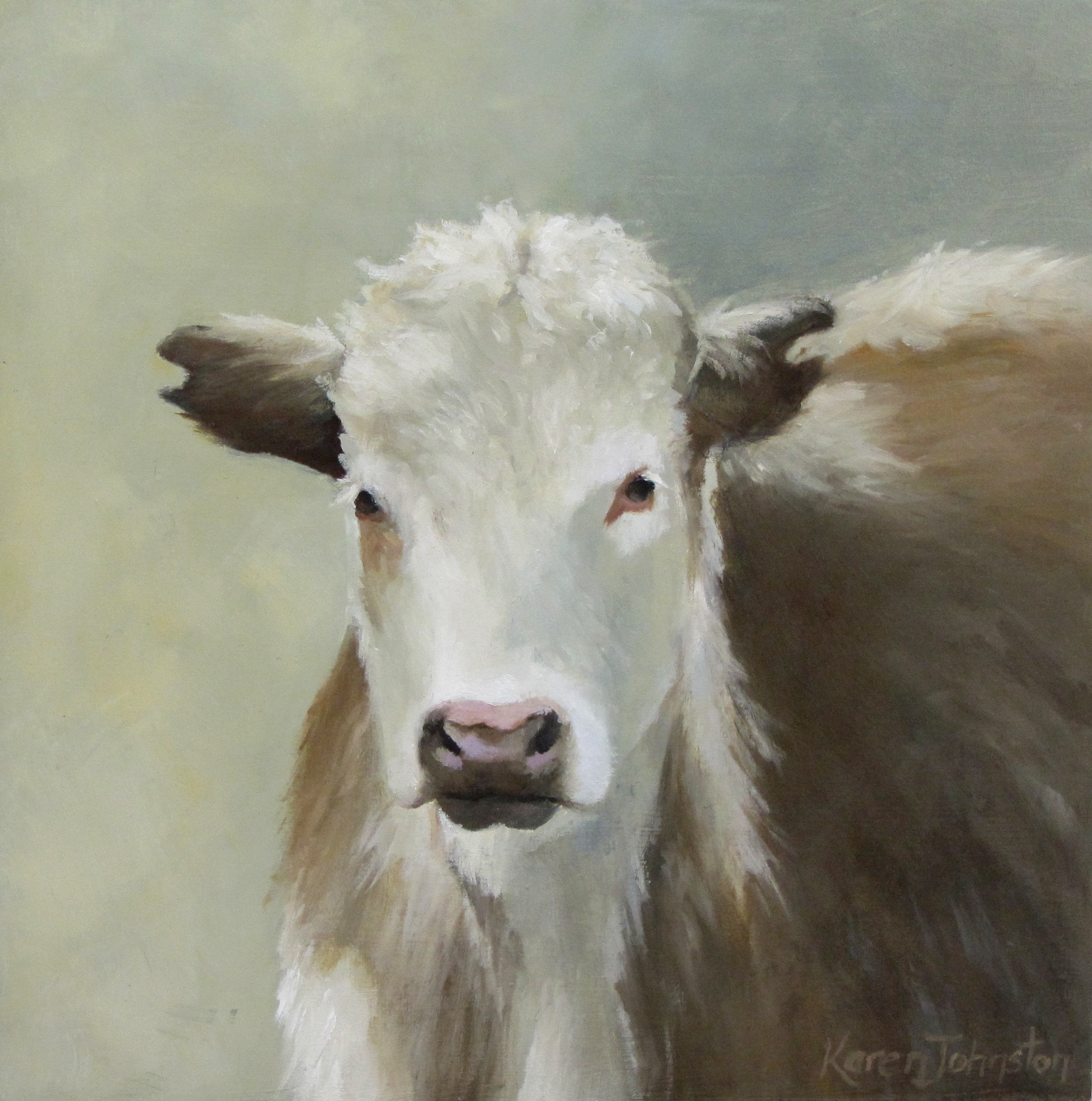 """Beautiful Boy"" original fine art by Karen Johnston"