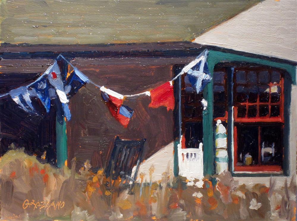 """Signal Flags"" original fine art by Dan Graziano"