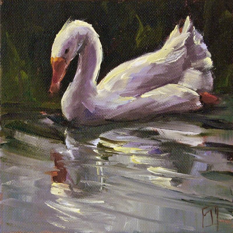 """Goose Study 3"" original fine art by Lori Twiggs"