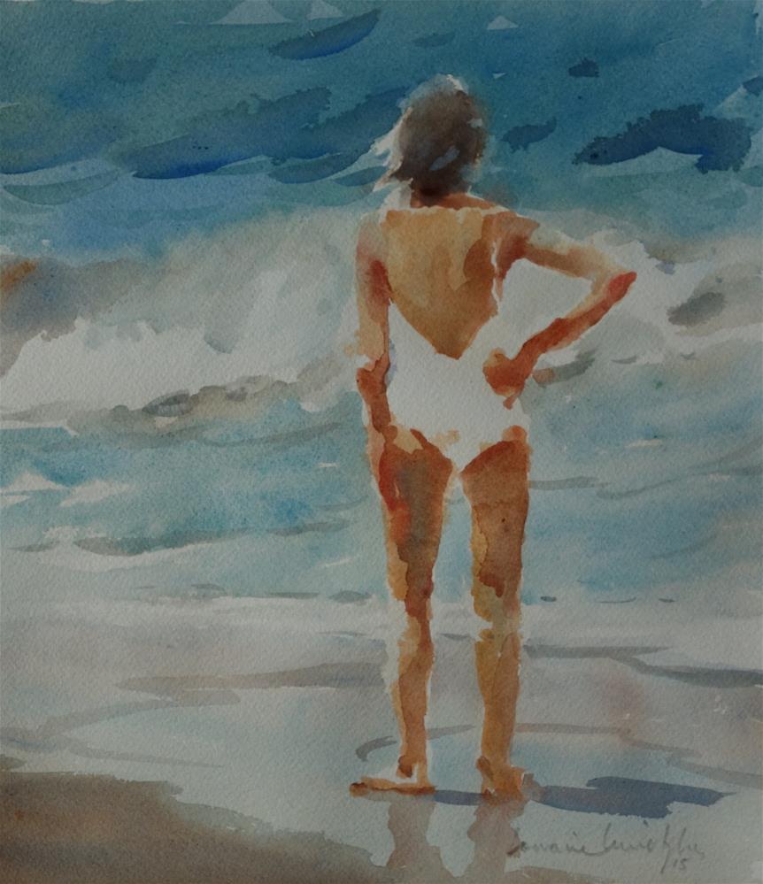 """The Big Wave"" original fine art by Lorraine Lewitzka"