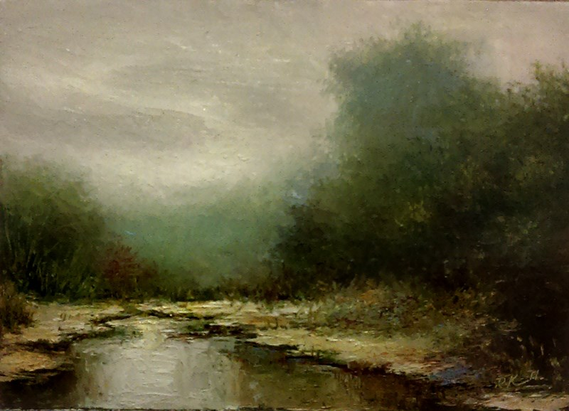 """The Wetlands II"" original fine art by Bob Kimball"