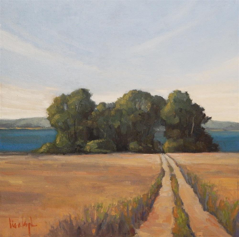 """""""The Road to the Sea"""" original fine art by Lisa Kyle"""