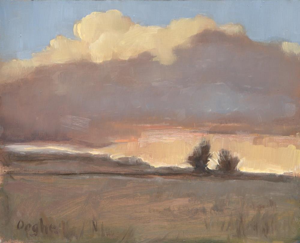 """Florida Landscape"" original fine art by Angela Ooghe"