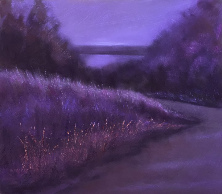 """Down To The River"" original fine art by Cristine Kossow"