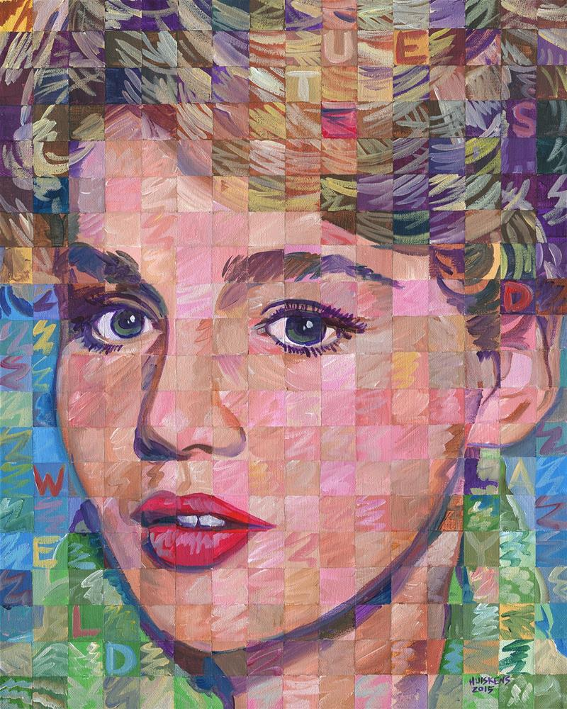 """Tuesday Weld"" original fine art by Randal Huiskens"