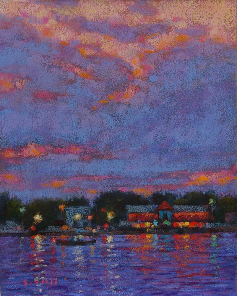 """Evening Cruise"" original fine art by Sharon Will"