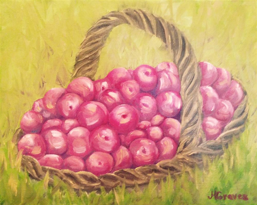"""""""Plum Crazy"""" original fine art by J H Graves"""