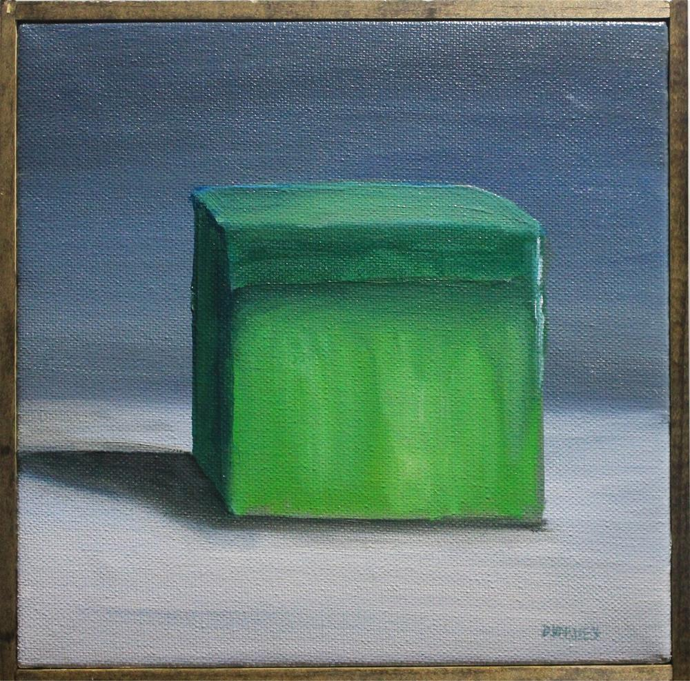 """The Green Box"" original fine art by Daniel Varney"