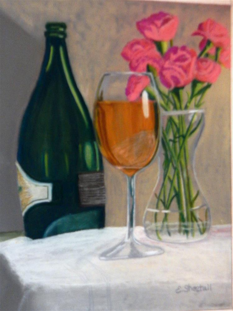 """A Small Celebration"" original fine art by Elaine Shortall"