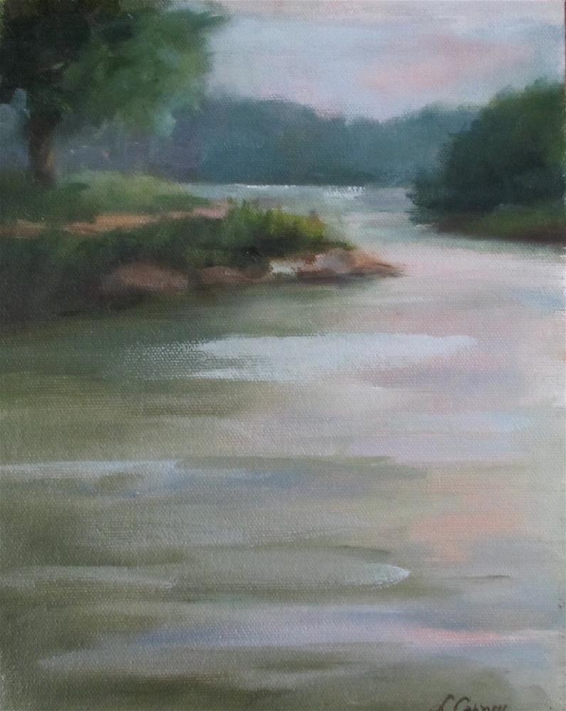 """Overcast"" original fine art by Linda Carney"