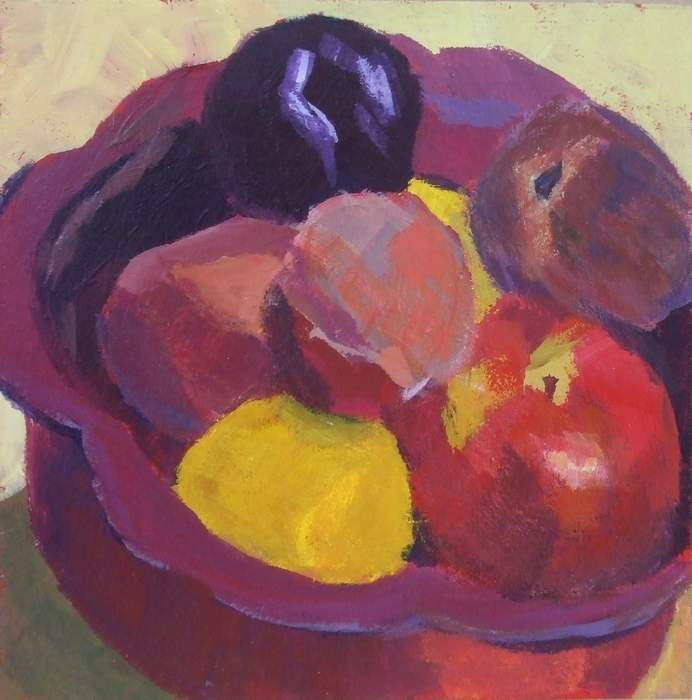 """My Grandmother's Bowl"" original fine art by Meredith Adler"
