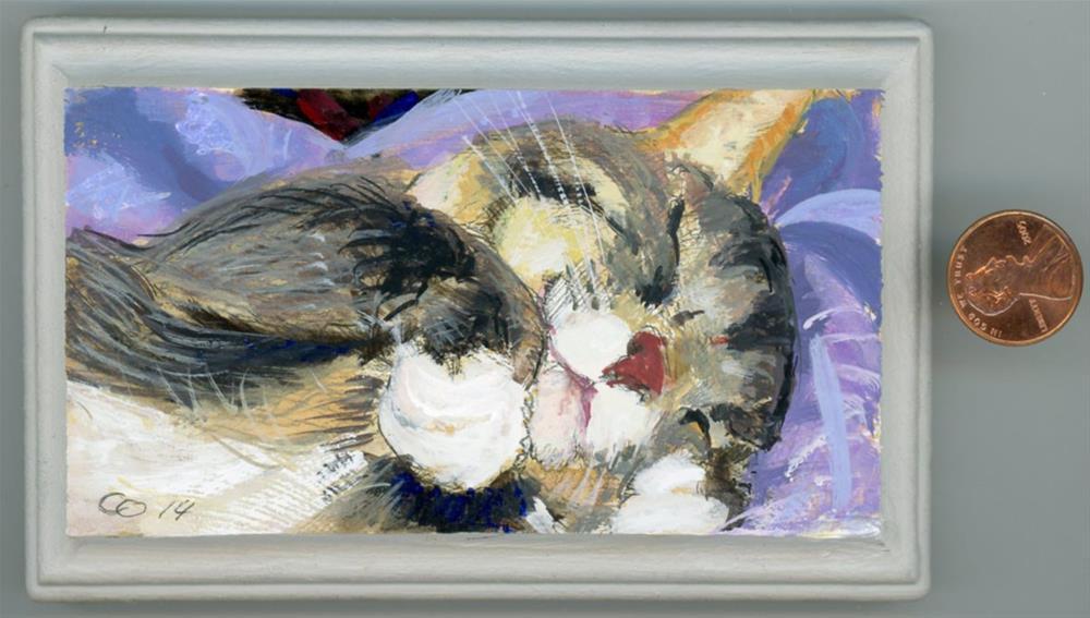"""Sweet Dreams"" original fine art by Chris Ousley"