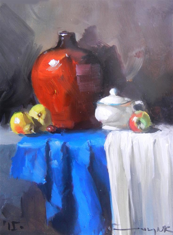 """Vase"" original fine art by Dragan Culjak"