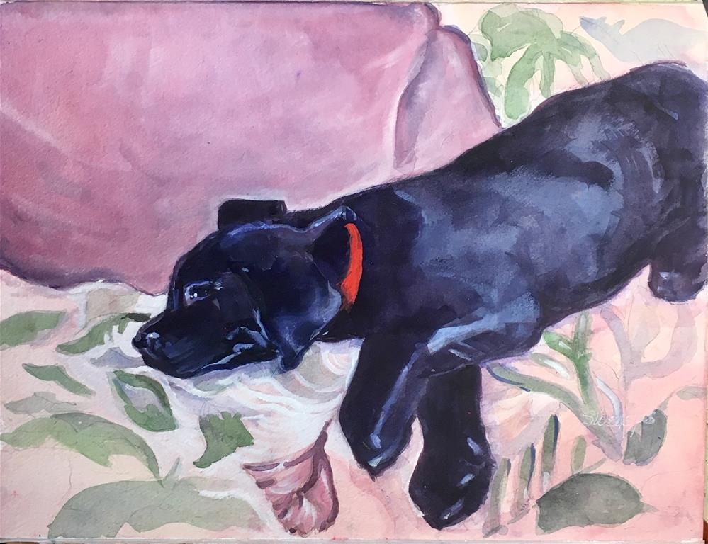 """Baby"" original fine art by Sheila Wedegis"
