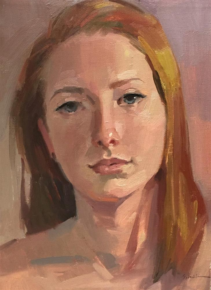 """Zorn Palette Portrait Workshop Demo"" original fine art by Sarah Sedwick"