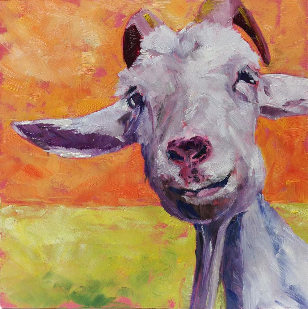 """What a Face!"" original fine art by Eileen Hennemann"