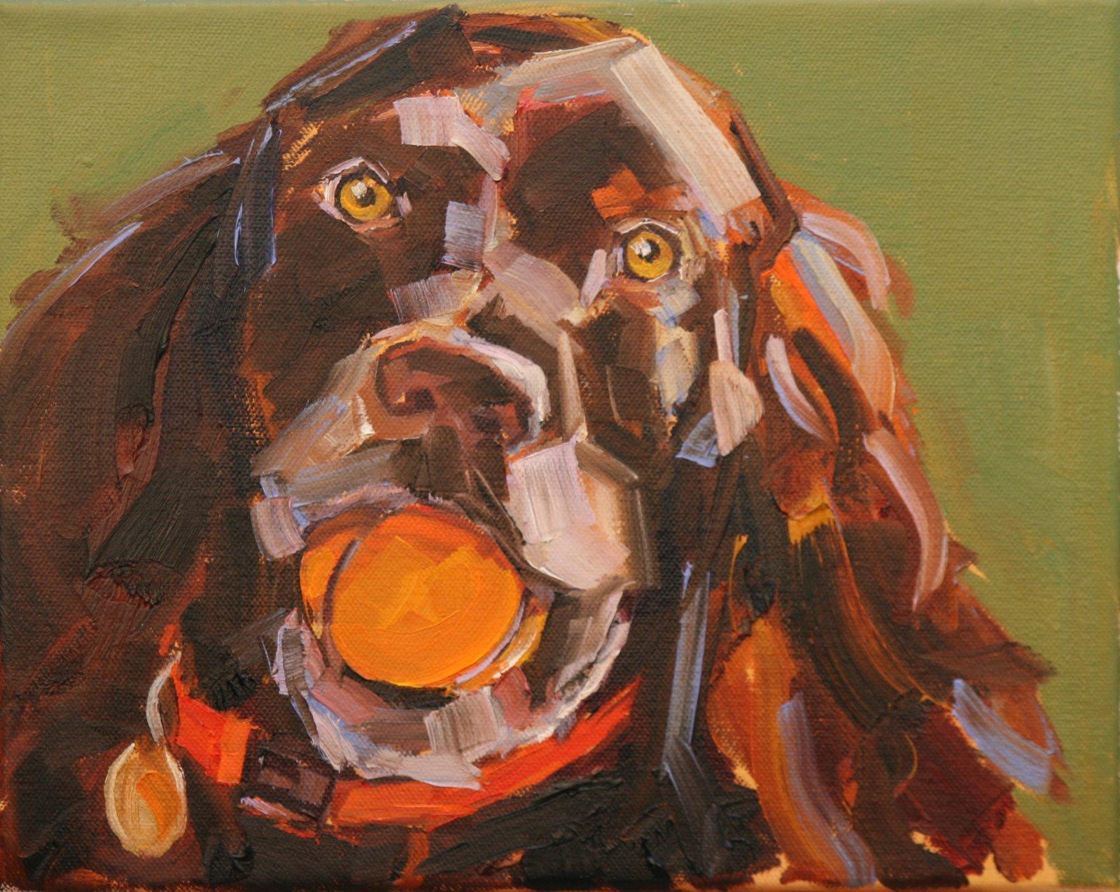 """judge"" original fine art by Carol Carmichael"