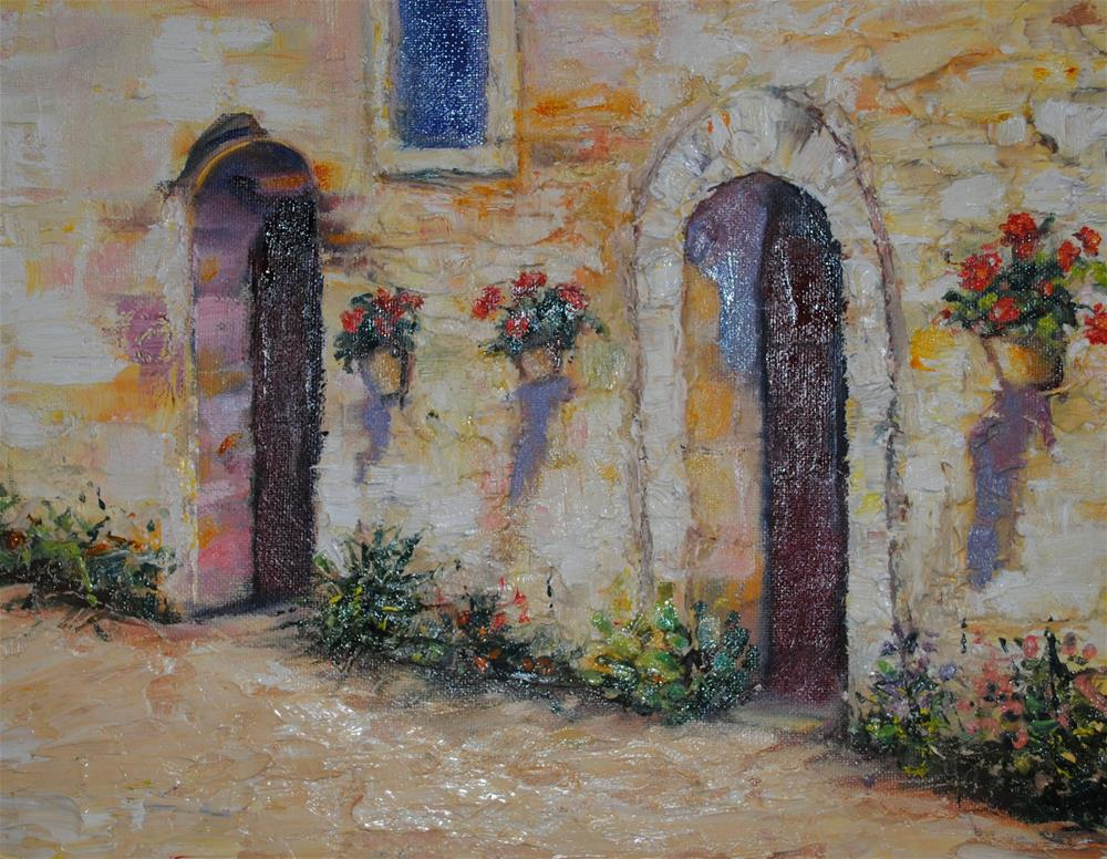 """El Calor"" original fine art by Nan Perry"