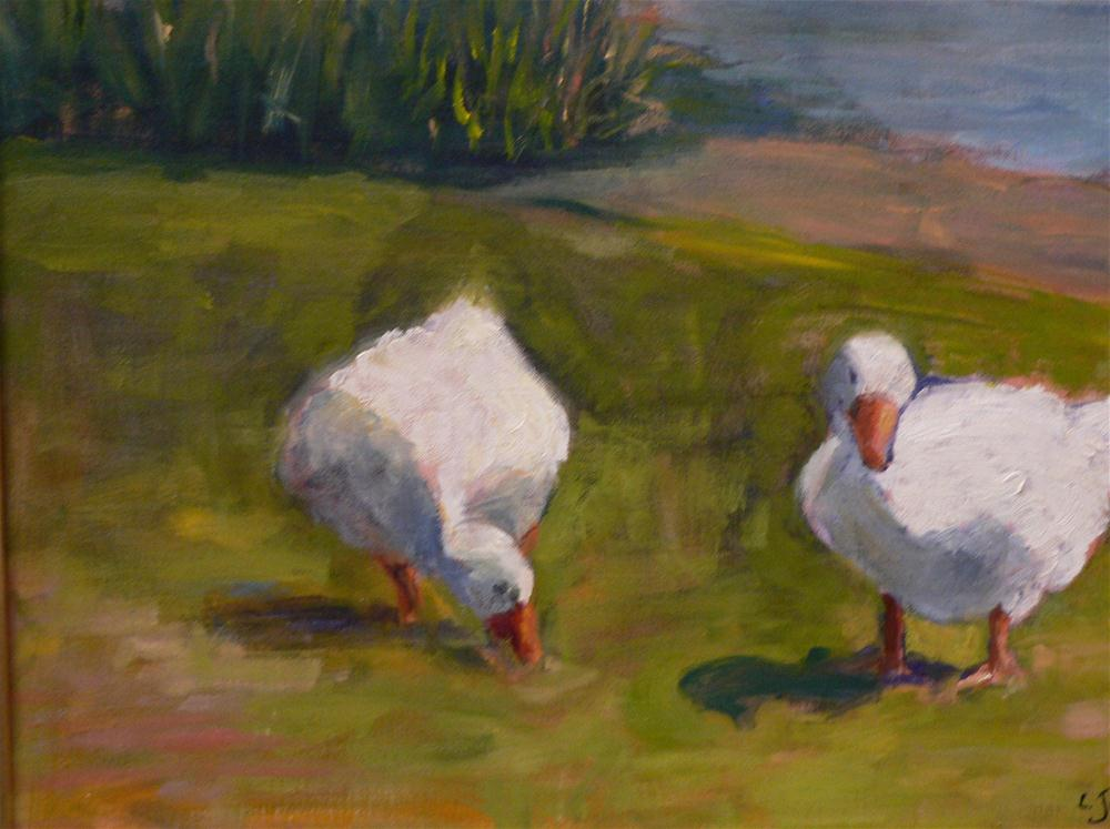 """Ducks"" original fine art by Carol Josefiak"