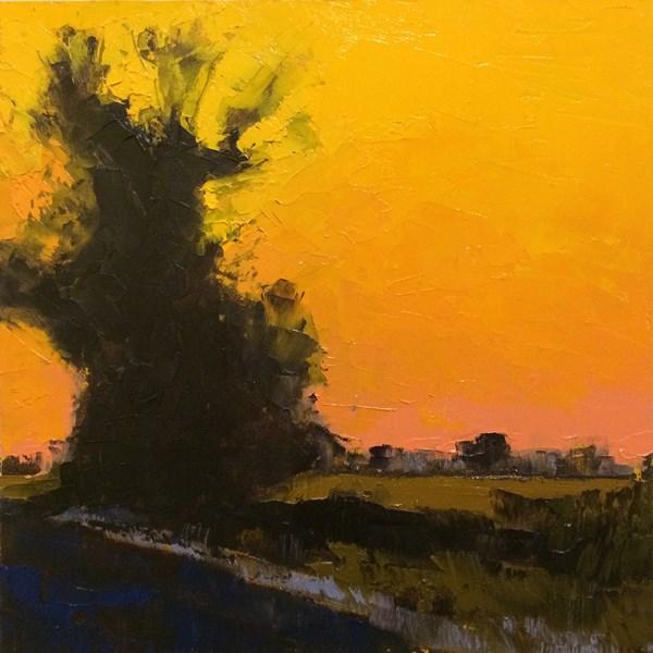 """Deep Winter Light"" original fine art by Mary Gilkerson"