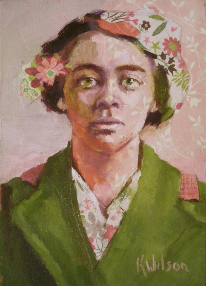 """Pink Light"" original fine art by Katie Wilson"