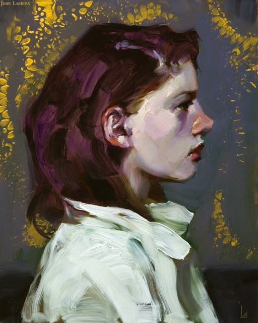 """Early Night"" original fine art by John Larriva"