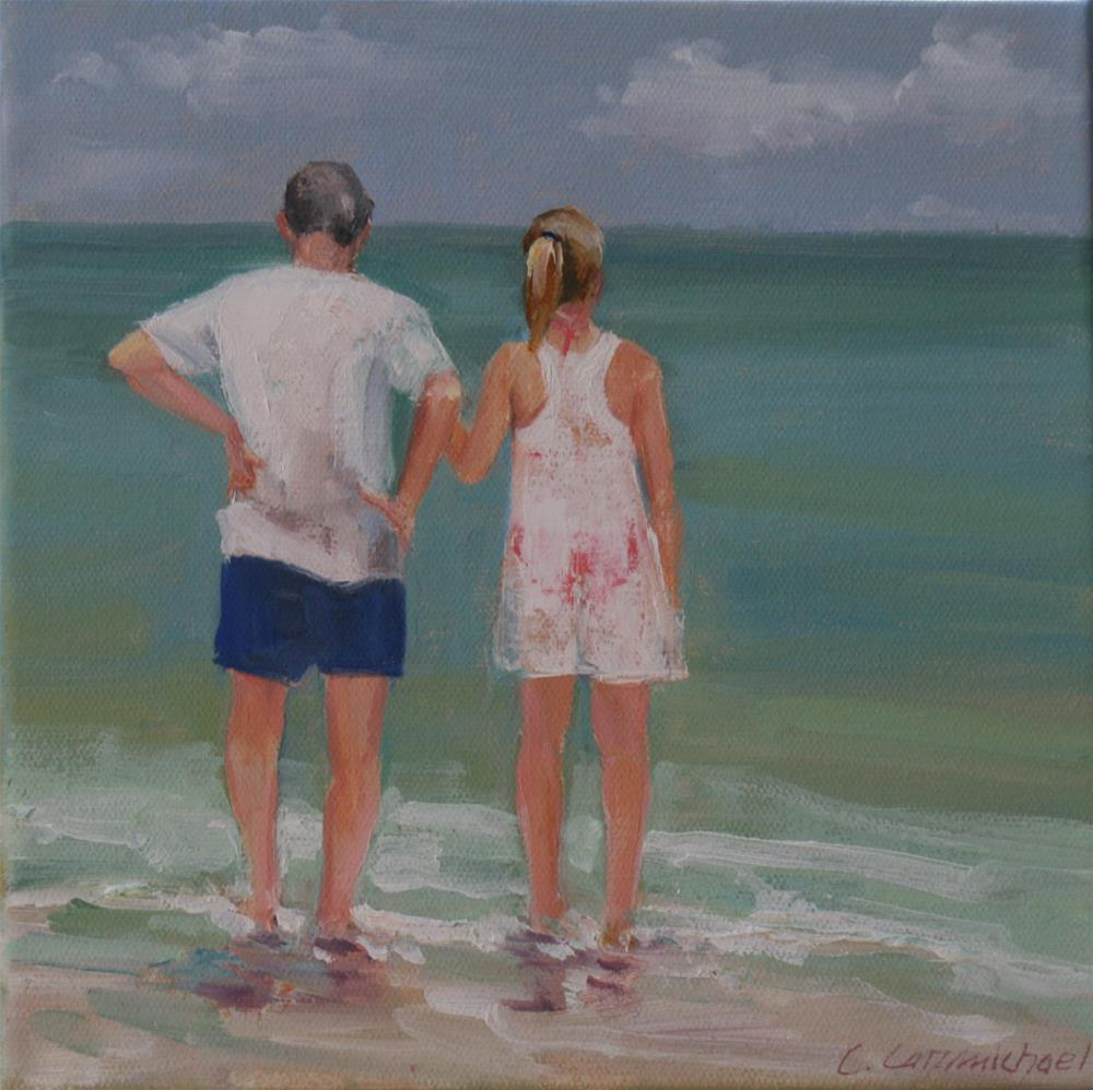 """loved ones"" original fine art by Carol Carmichael"