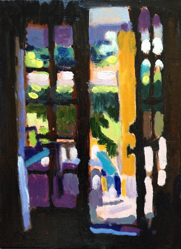 """Good Morning II"" original fine art by Pamela Hoffmeister"