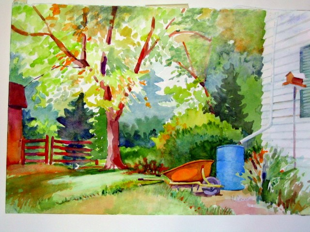 """minnedosa"" original fine art by meribeth coyne"