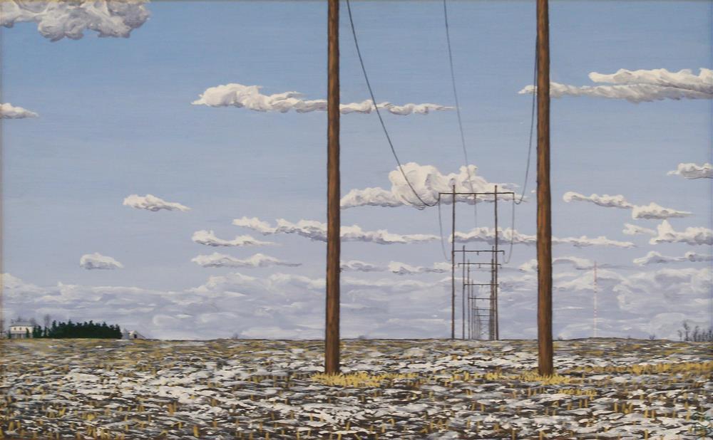 """""""Transmission Lines"""" original fine art by Greg Arens"""