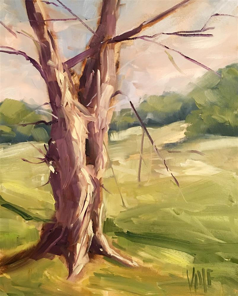 """#325 Still Standing"" original fine art by Patty Voje"