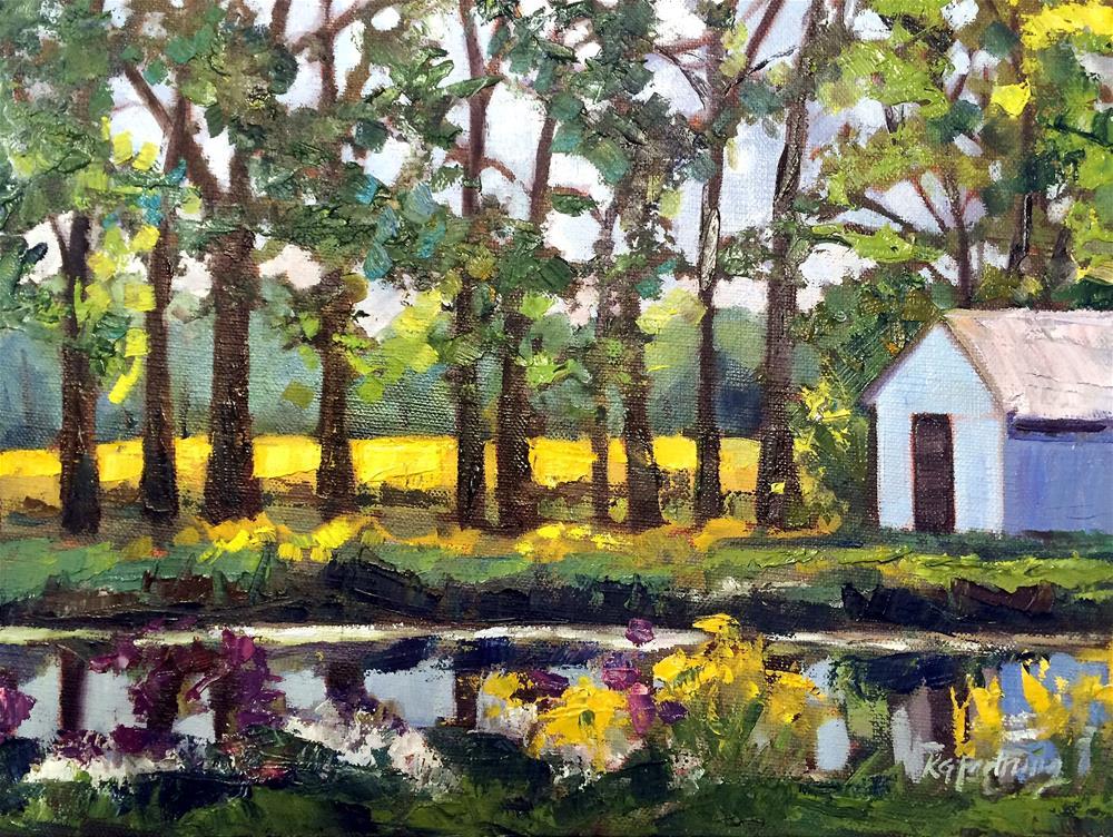 """""""September Soy"""" original fine art by Kathleen Gray Farthing"""