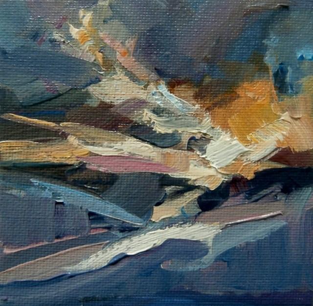 """Overhead Light"" original fine art by Anne Wood"
