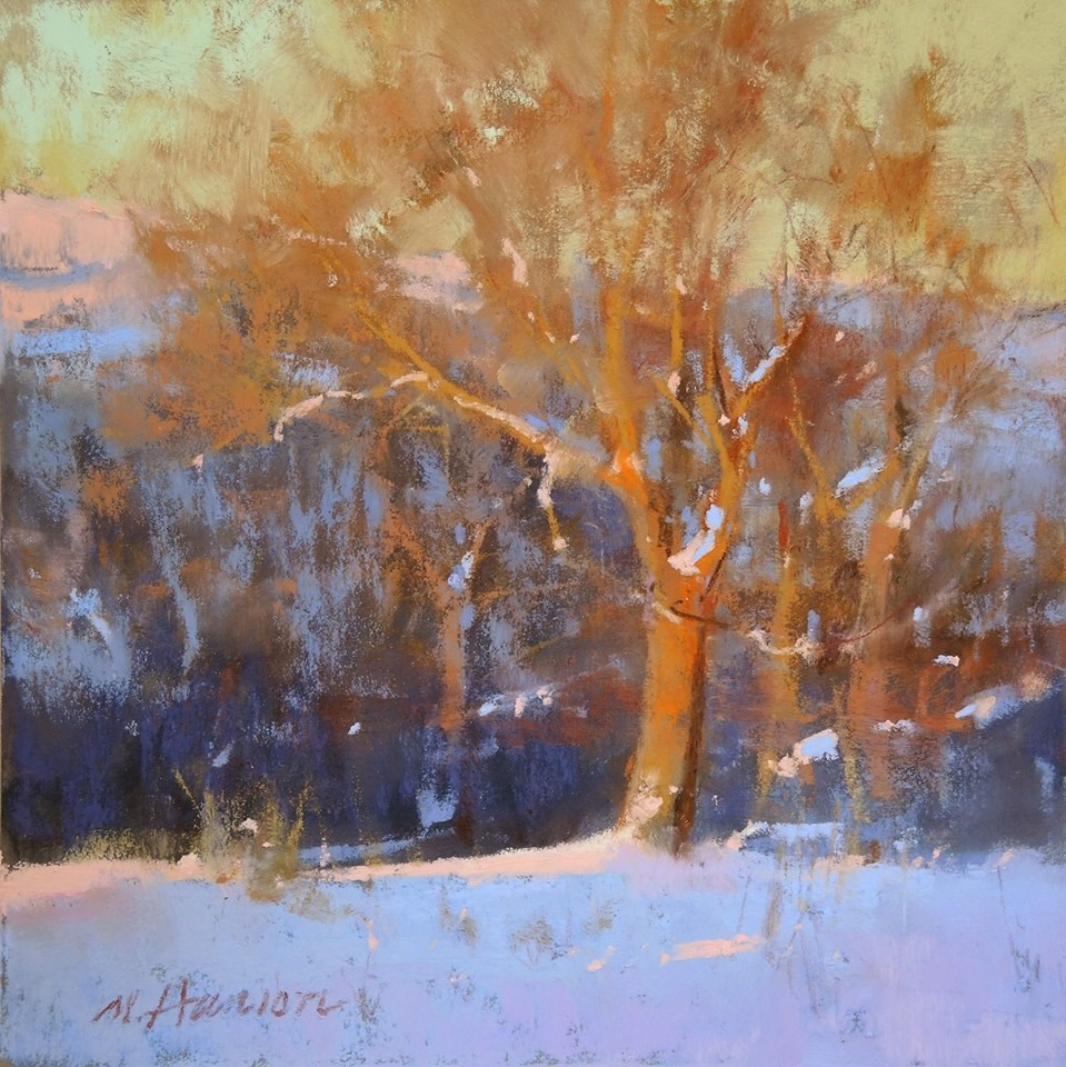 """Complimentary Tree"" original fine art by Marc Hanson"