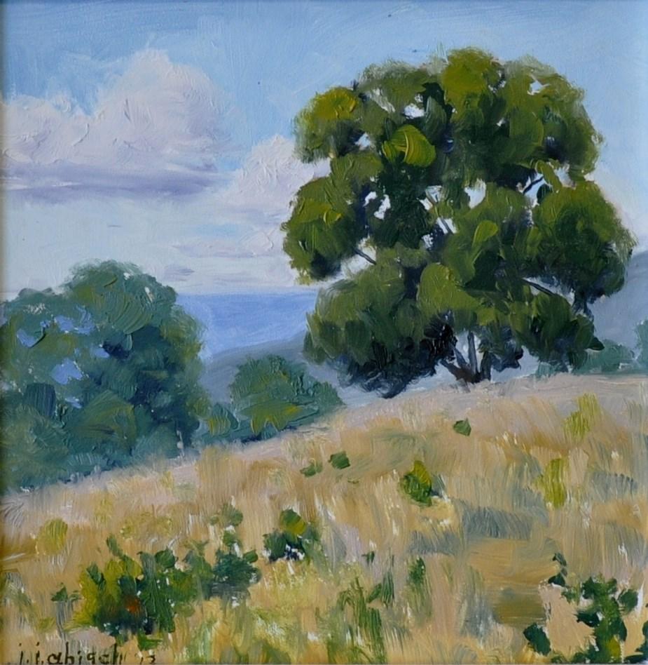 """""""Stanly County Summer"""" original fine art by John Abisch"""