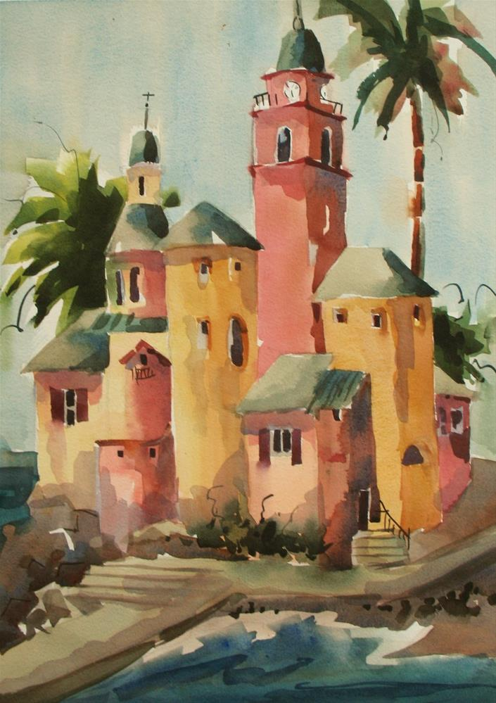 """Camogli , Italy #9"" original fine art by Jinnie May"