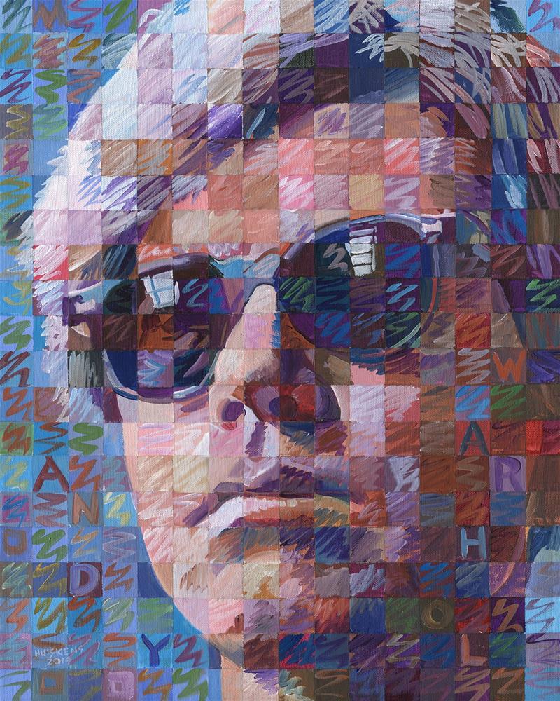 """Andy Warhol"" original fine art by Randal Huiskens"