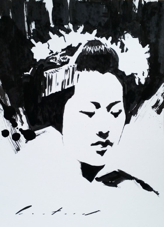 """Tomitae"" original fine art by Phil Couture"